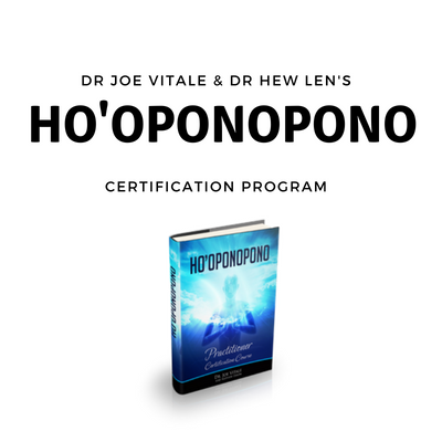 joe vitale certification hooponopono