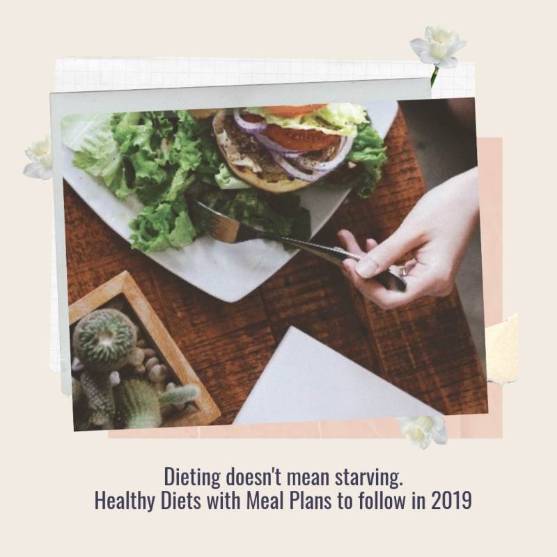 Healthy Diets with Meal Plans You Should Try in 2019